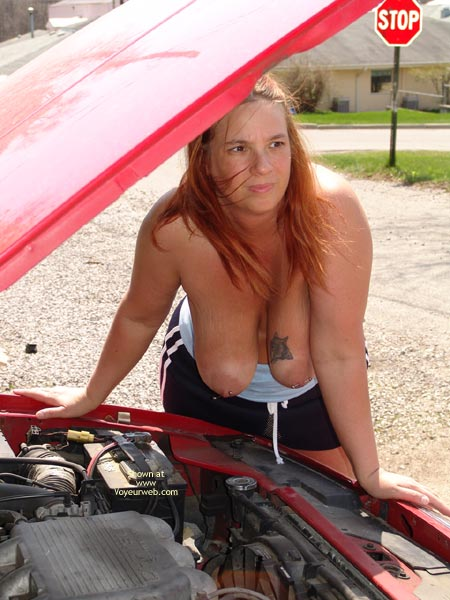 Pic #7 - Checking Under The Hood