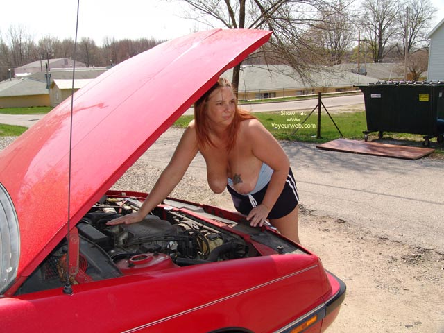 Pic #9 - Checking Under The Hood