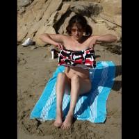 Beach Milf (Legs Up)