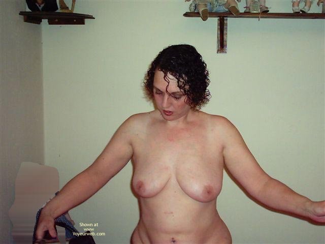 Pic #1 - Getting Ready For A Night Out