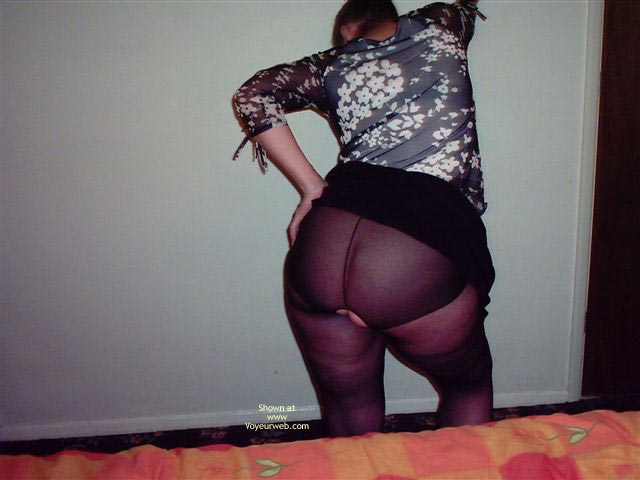 Pic #3 - Getting Ready For A Night Out