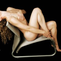 Nude Girl Sitting On Chair - Naked Girl, Nude Amateur