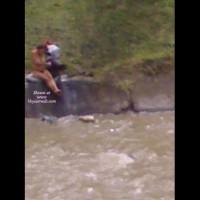 Preggo At Medellin River