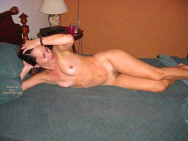 Pic #2 - Kerry Lounging Nude