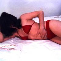 My 21yrs Old Red Bikini Girlfrd 1st Contri
