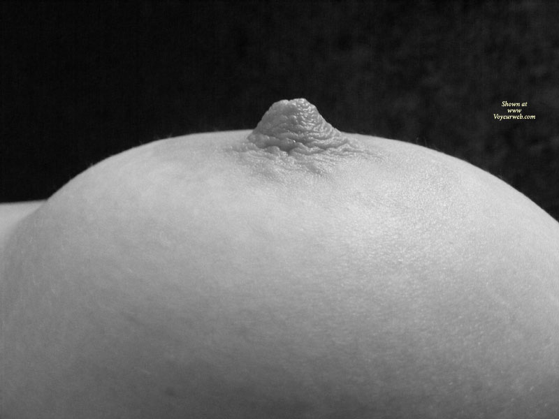 Pic #1 - Nipple In Black&white , Close-up Tit, Close-up Of Breast, Black And White Photo, Hard Nipple, Nice Nipple, Really Hard Nipple, Full Breast