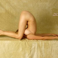 Nude Contortionist - Blonde Hair, Naked Girl, Nude Amateur