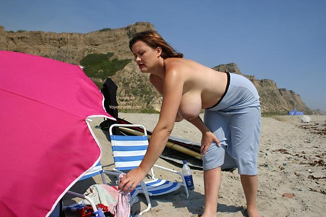 Pic #1 - Hayden Gets Naked At The Beach