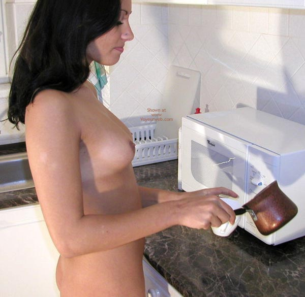 Pic #2 - Naked in the Kitchen