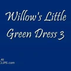 Willow's Little Green Dress