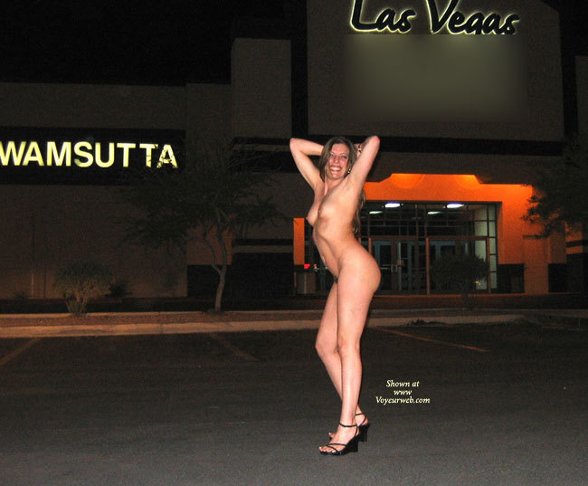 Pic #1 - Full Nude Profile In Vegas - Brown Hair, Long Legs, Naked Girl, Nude Amateur, Sexy Legs , Black Wedge Heels With Thin Straps, Full Nude Profile, Nighttime Nude In Vegas, Sharp Ribs, Totally Nude With Black Wedgies, Sexy Long Legs Outside, Parking Lot Posing Nude., Nude In Heels Outside, Naked Outdoors, Black Wedge Heels