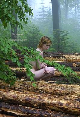 Pic #5 - Csilla In The Romanian Wood 2