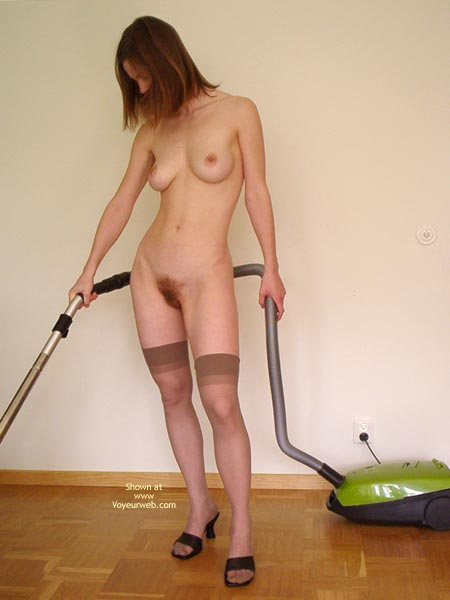 Pic #1 - Swedish Beauty Doing Her Chores