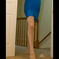 By Blue Dress
