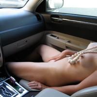 Masturbating In Car - Naked Girl, Nude Amateur