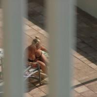 Sunbathing Big Tits