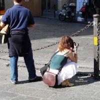 La Fotoreporter Scosciata