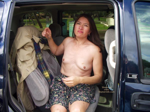 Pic #3 - First Time Taking Nude Pics In Public
