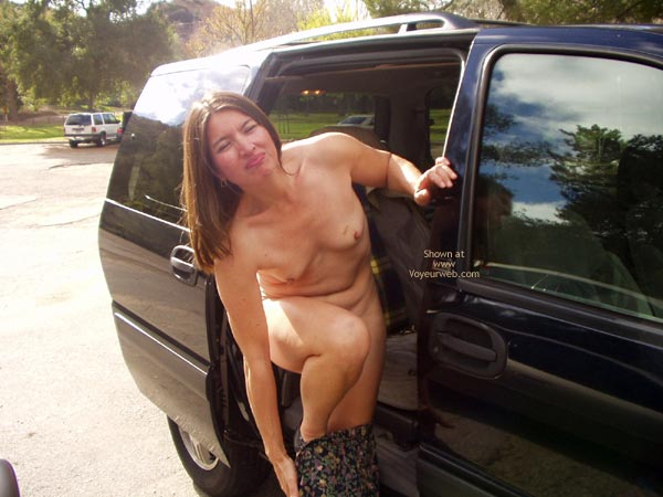 Pic #4 - First Time Taking Nude Pics In Public