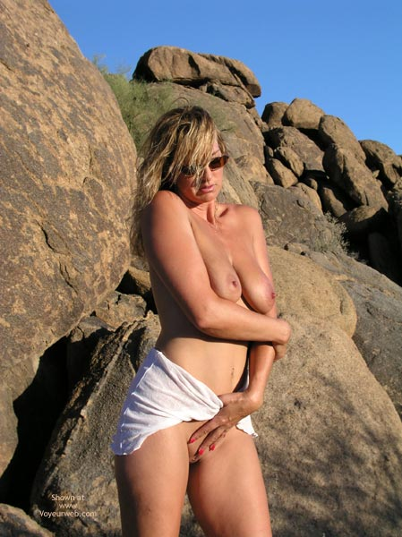 Pic #1 - Outdoors - Nude Outdoors , Outdoors, Breasts, Rocky Mountain High