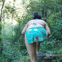 Outdoor Adventure Of Bold Indian Wife