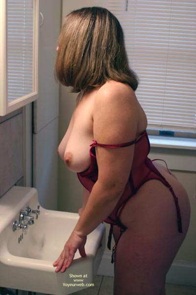 Pic #2 - OH Wife Getting Ready