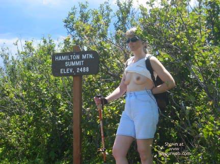 Pic #1 - Hiking the Trail