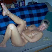 Angelique Naked On The Couch