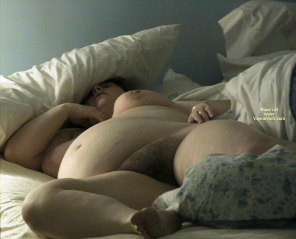 Pic #4 - Sleeping Pregnant Wife