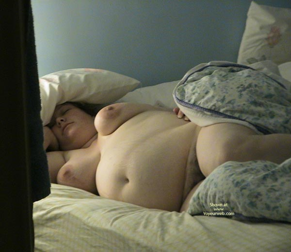 Pic #5 - Sleeping Pregnant Wife