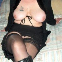 Not Tied Up, Stockings, Tits And Bum