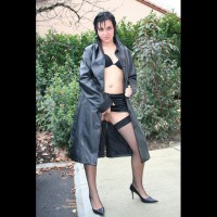 Flashing In Trenchcoat - Flashing, Stockings