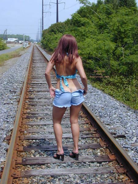 Pic #4 - Jane On The Tracks