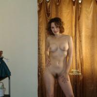 Nude Wife Posing - Brunette Hair, Landing Strip, Milf, Naked Girl, Naked Wife, Nude Amateur, Nude Wife