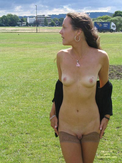 Pic #1 - Swelly Lips - Flashing, Naked Outdoors, Shaved Pussy, Small Breasts, Thigh Highs , Swelly Lips, Pouty Lips, Shaved Pussy, Small Breasts, Thigh Highs, Extensive Outer Labia, Tan Stockings, Naked Outdoors, Flashing Outdoors
