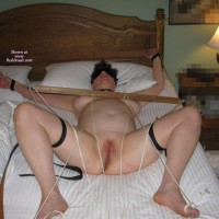 Strapped To The Bed