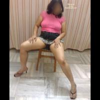 Mahima~Pink Top And Skirt-1
