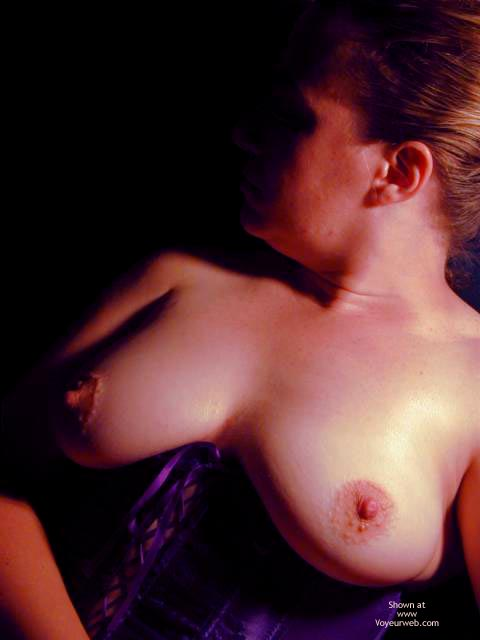 Pic #9 - Oh Wife Bares Boobs in Purple Corset
