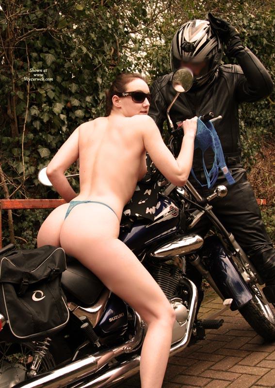Pic #4 Gslut Biker Babe