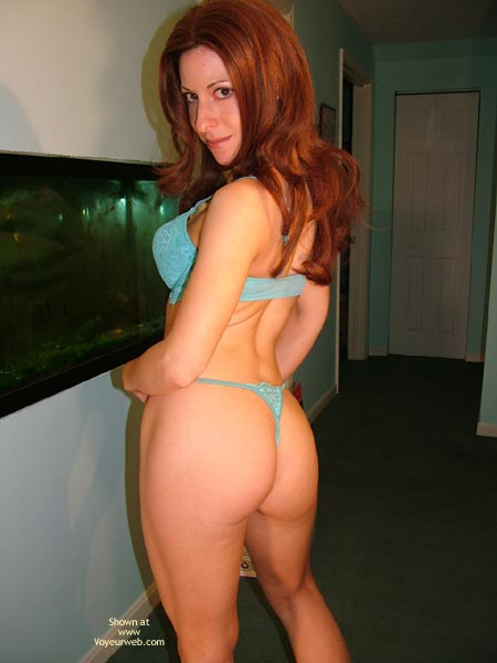 Pic #2 - Simone  My Ass And The Fish Tank