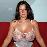 Big Knockers In Fishnet - Big Tits, Huge Tits