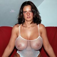 Big Knockers In Fishnet - Big Tits, Huge Tits