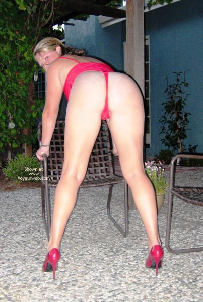 Pic #3 - Mrs420 In Red