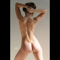 Athletic Ass Shot - Brown Hair, Long Hair, Naked Girl, Nude Amateur, Sexy Ass, Wife Ass