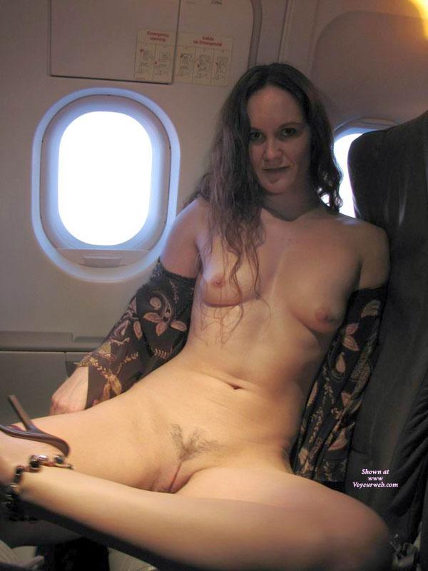 Nude flashers plane — photo 7