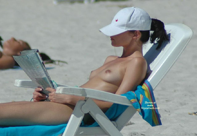 Pic #1 - Topless Girl Reading On Beach - Brunette Hair, Natural Tits, Small Tits, Topless Beach, Topless, Beach Tits, Beach Voyeur, Naked Girl, Nude Amateur , Cute Perkies On Beach, Topless On Beach With Perky Breasts, Upper Body Tanning, Sunning Topless In Beach Chair, Topless Sunbathing, Small Natural Tits, Beach Nude, Reading On Beach, Sexy Topless Brunette, Nude Sunbathing