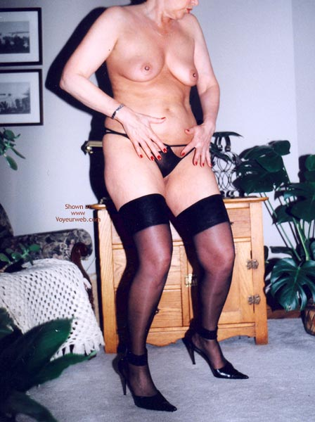 Pic #6 - Mrs.Cleaver Stripping #2
