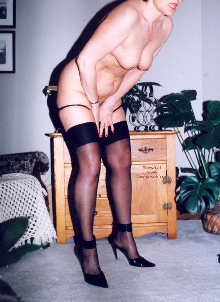 Pic #9 - Mrs.Cleaver Stripping #2